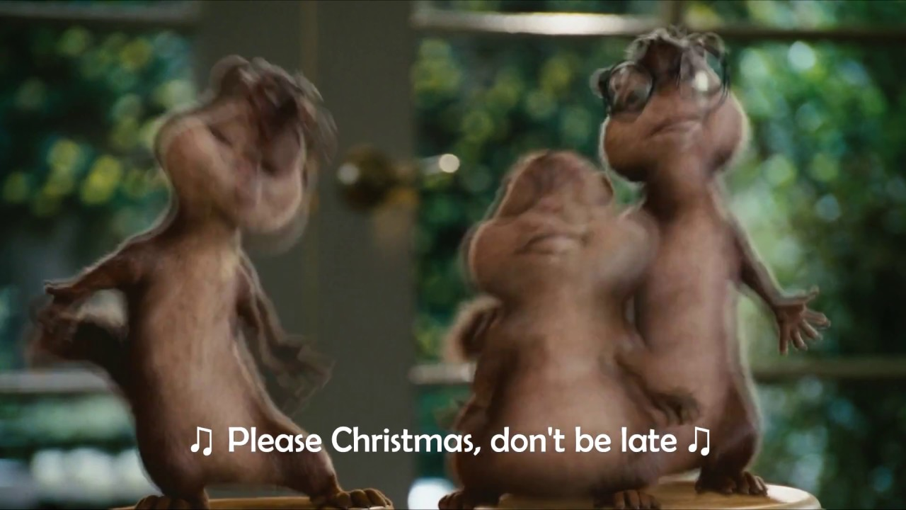 Alvin and The Chipmunks - The Christmas Song (Lyrics Video 1080p ...