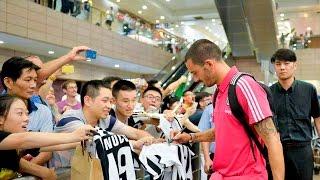Il viaggio della Juventus verso Shanghai - On the road to the Italian Super Cup
