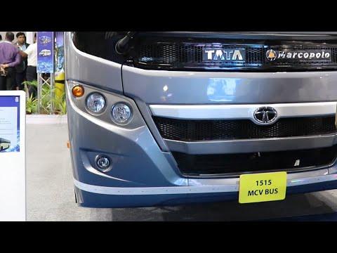 56 seater Tata Marcopolo IDEALE Semi Sleeper Bus Bus World