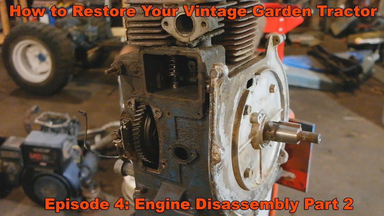 Ford 120 Garden Tractor Wiring Gardening Flower And Vegetables Lgt 125 Diagram How To Restore Your Vintage Ep 4 Kohler K Engine