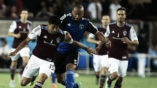 Video Gol Pertandingan San Jose Earthquakes vs Colorado Rapids