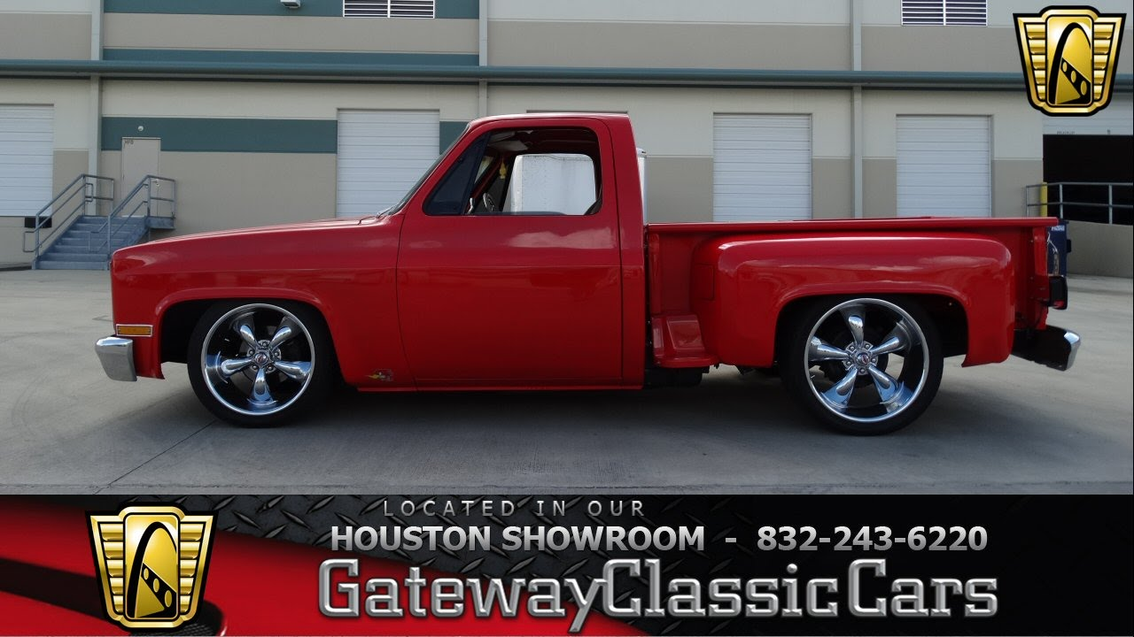 1982 chevy stepside bed