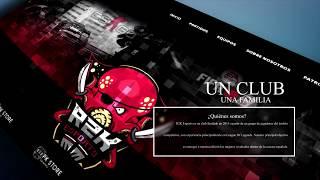 Presentación de la Web de R2K eSports