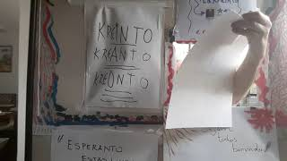 ESPERANTO ~ Aula 2