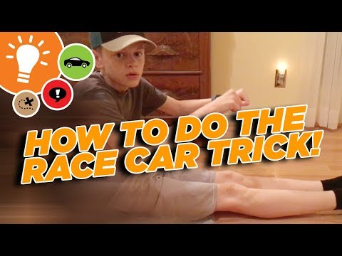HOW TO DO THE RACE CAR TRICK! As seen on Casey Neistat's 368 VLOG!
