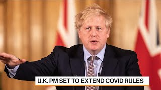 Johnson to Delay Reopening as U.K. Infections Rise