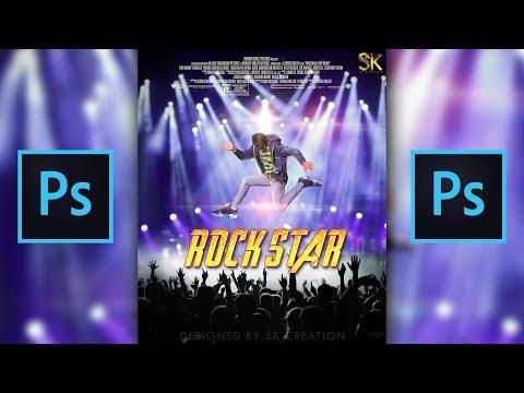 RockStar Photo Editing | Photoshop Tutorial 2018 | Concept Design in Photoshop CC