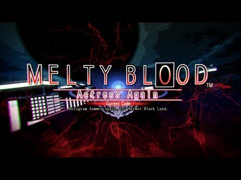 Boss Hunt - Archetype: Earth (Melty Blood Actress Again Current Code) By SG Lan