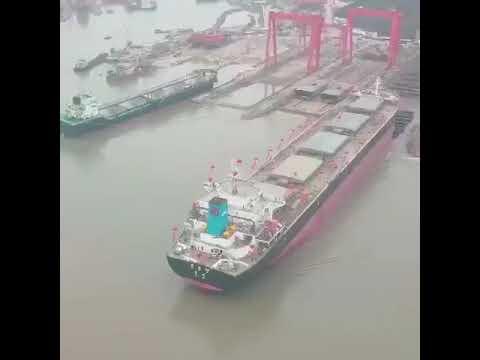 Direct Shipbuilding Shipyard In China ~ Launching Of 51,000 Dwt Bulk Carrier ~ June 2019