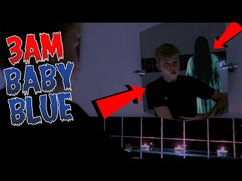 DO NOT DO THE *BABY BLUE CHALLENGE* AT 3AM! SUPER SCARY OMG!