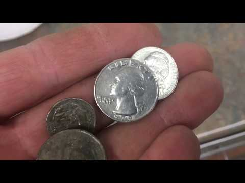 "The ""magic trick"" to cleaning coins found while metal detecting!"