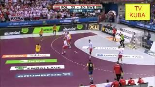 Piłka Ręczna MŚ 2015 Polska - Szwecja 24:20 ostatnie 5 minut dramatyczna końcówka