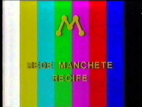Padrão colorido da Rede Manchete (Recife) em 1993