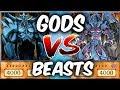 OBELISK vs RAVIEL   Yu gi oh God Card Deck Duel
