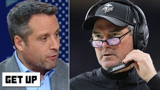 Look out for Mike Zimmer to the Cowboys if the Vikings lose to the Saints – Dan Graziano | Get Up