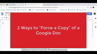 2 Ways to Force a Copy of a Google Doc