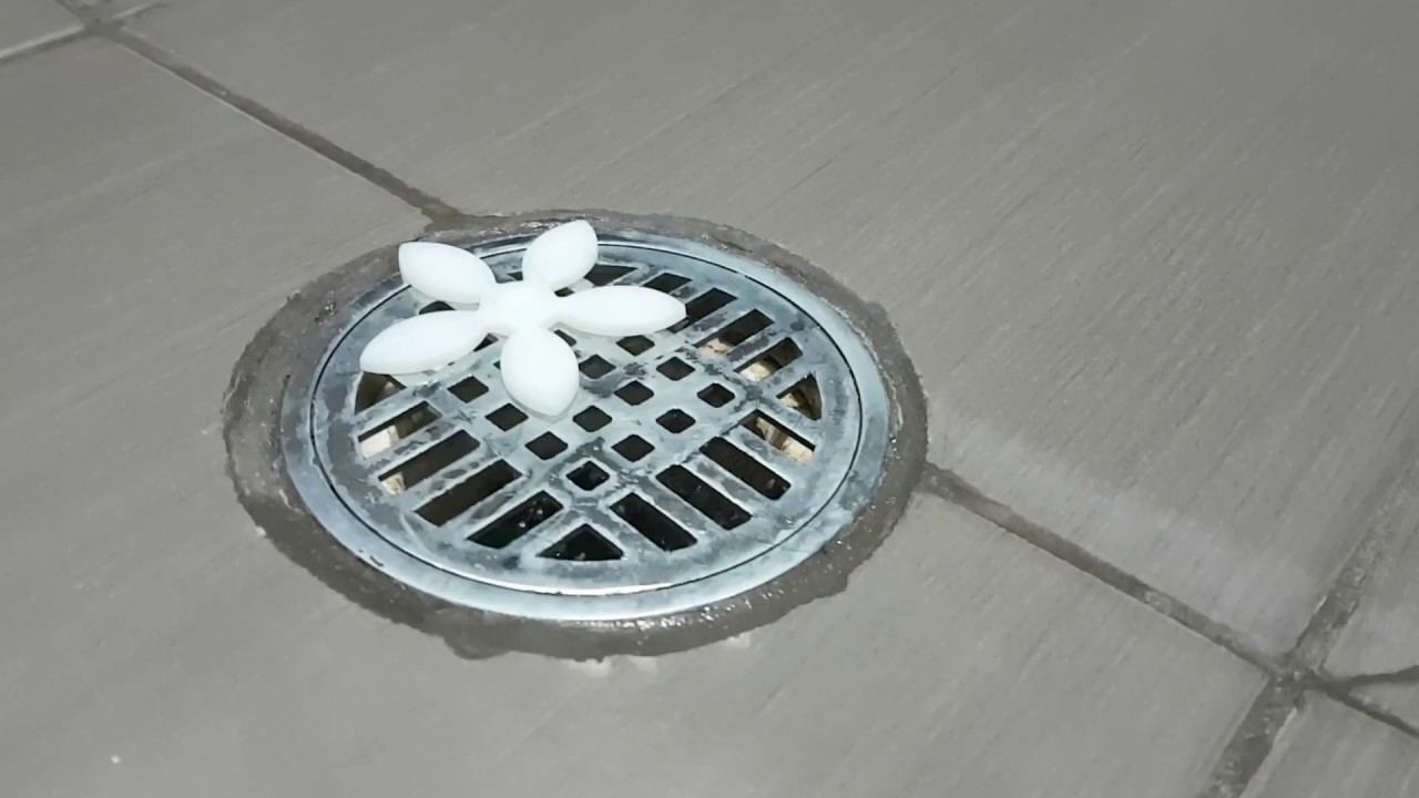 Shower Drain Hair Catcher Installation and Review - YouTube