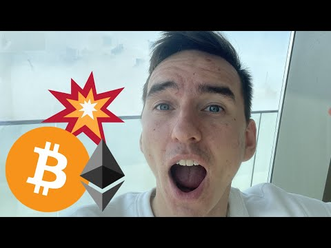 SOMETHING CRAZY IS HAPPENING TO BITCOIN & ETHEREUM TODAY!!!!!!!!