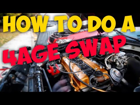 Download Everything YOU will need to do a 4AGE SWAP! on your Ae92 or any other car!