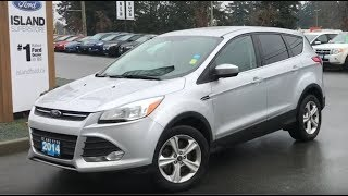 2014 Ford Escape SE W/ Heated Seats, Backup Camera AWD Review| Island Ford