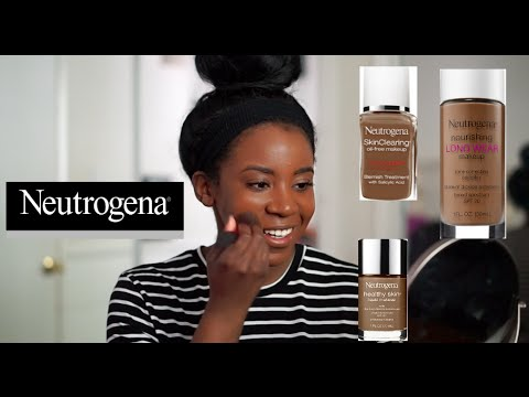 Neutrogena foundation for dark skin