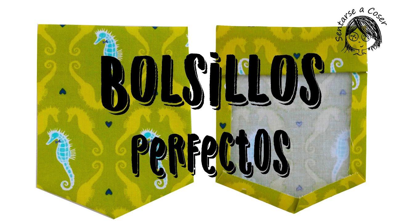 ⭐Cómo hacer BOLSILLOS PERFECTOS cómodamente