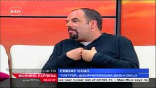 Friday Chat 4th Sept 2015 with Musician GILAD who sang UNAJUA