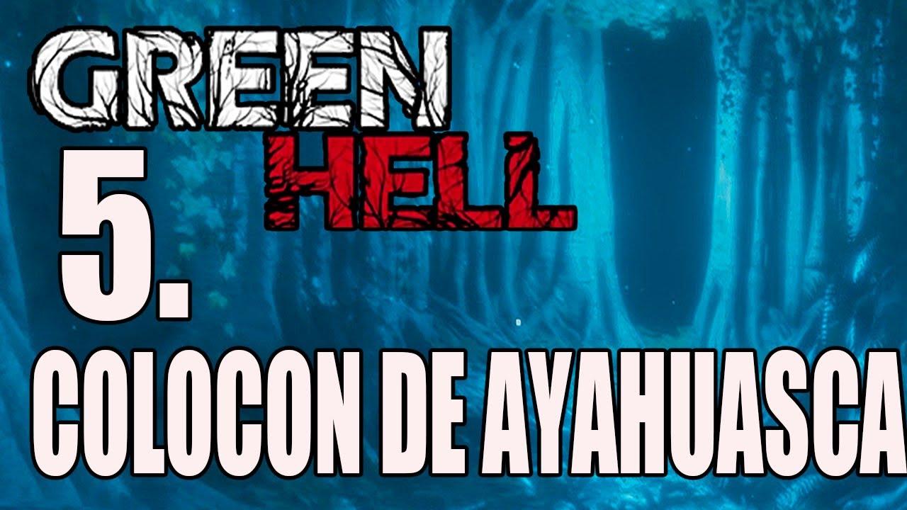 GREEN HELL - #5 Colocon de Ayahuasca!! Empezamos a ser el autentico superviviente - EN ESPAÑOL