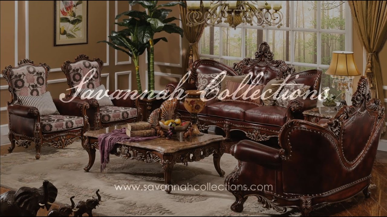 Victorian Furniture Living Room Collection By Savannah Collections Aico Youtube