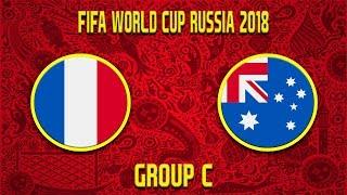 FIFA World Cup 2018   Francie - Austrálie   Group C   CZ/SK