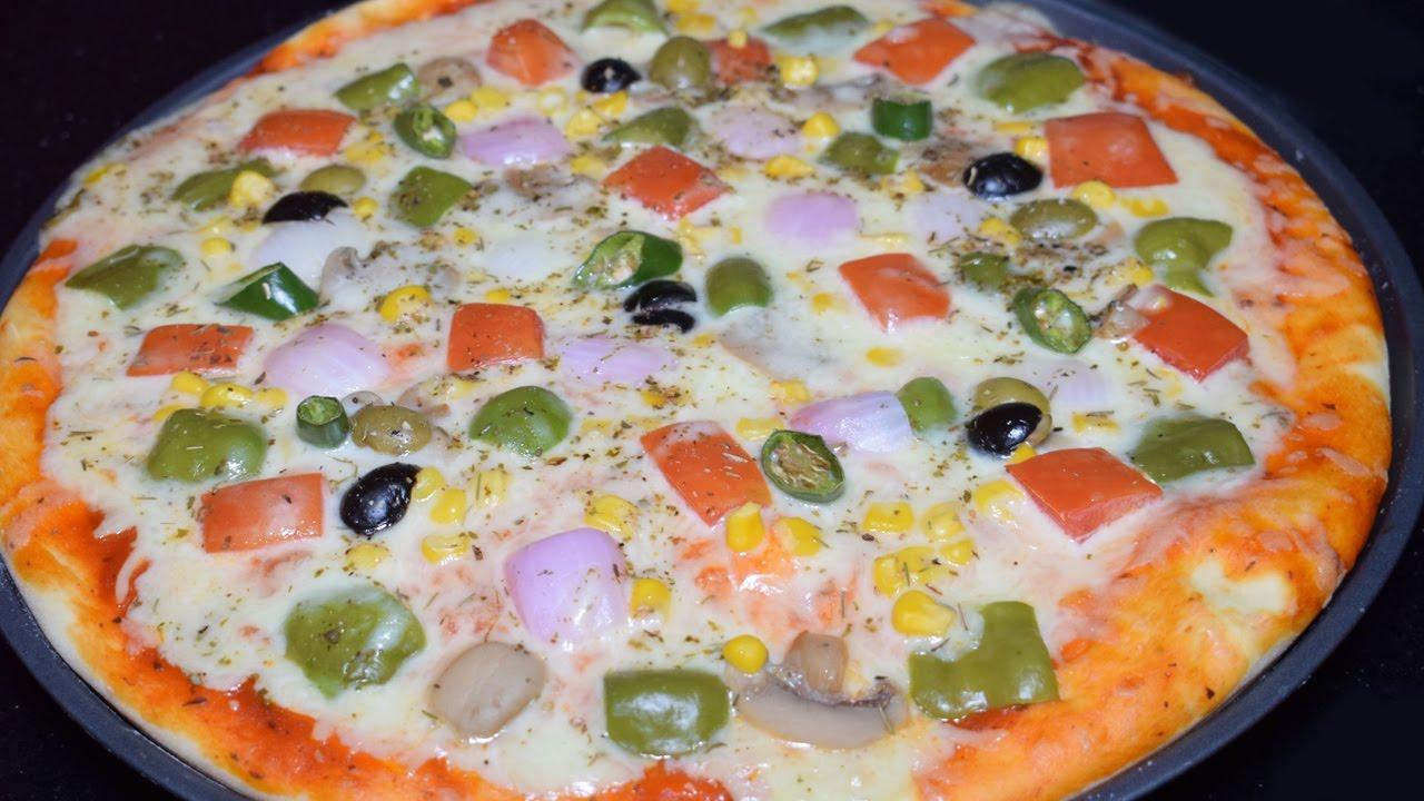 Kitchen With Amna Pizza
