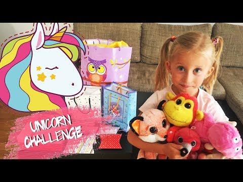 Jednorog Challenge 1. deo - Igracke i nakit / Unicorn gifts - Toys for kids