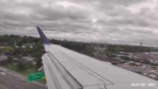 delta airlines erj 170 inflight takeoff dca landing lga