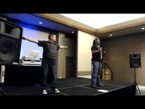 Wawa and DJ Nicar Live at Missouri Association of the Deaf Conference 2017