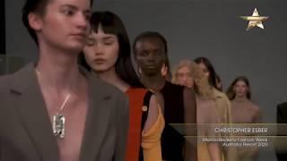 CHRISTOPHER ESBER Mercedes-Benz Fashion Week Australia Resort 2020