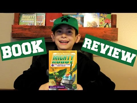 BOOK REVIEW | Ricky Ricotta MIGHTY ROBOT VOODOO VULTURES FROM VENUS
