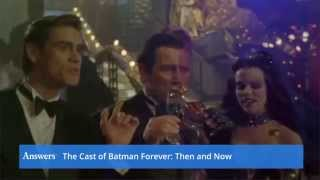 The Cast Of Batman Forever Then And Now