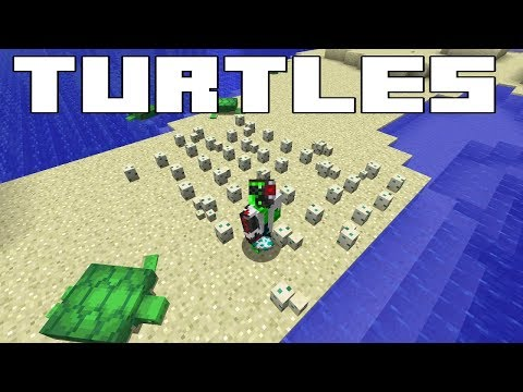 Minecraft Turtles Everything You Need To Know Breeding Potion