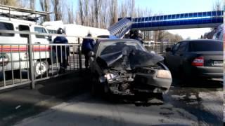 Авария на микрорайоне в Новошахтинске 01 03 2017