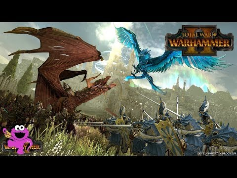 Total War Warhammer 2 – Dark Elves vs. High Elves In-Engine Trailer Analysis, Lords, Units, and Lore