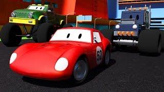 2 Trek Monster & Spid si mobil balap Kartun kanggo anak kaya Lightning McQueen Cars