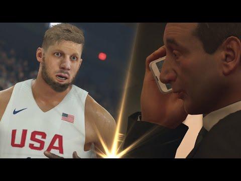 PAF AVEC LA TEAM USA !!   NBA 2K17 : MA CARRIERE #6
