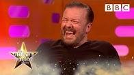 Ricky Gervais needs LEGAL ADVICE for his awards show pranks... | The Graham Norton Show - BBC