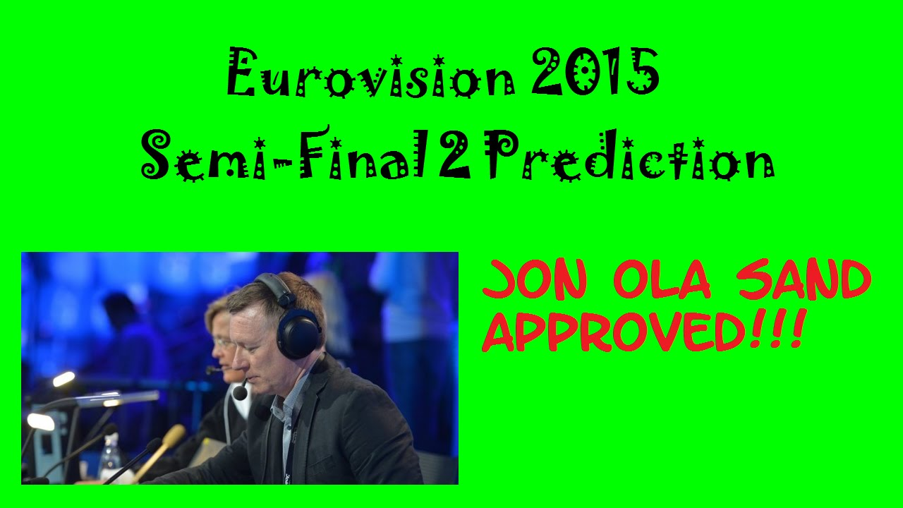 eurovision 2015 semi final 2 prediction youtube. Black Bedroom Furniture Sets. Home Design Ideas