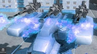 The Heavy Machine Gun Cannon Before The Tempest And Avenger | War Robots