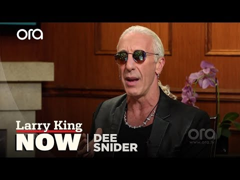 Dee Snider on his current relationship with Trump   Larry King Now   Ora.TV