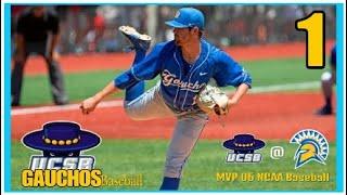 MVP 06 NCAA Baseball - UC Santa Barbara Gauchos Dynasty - Episode 1