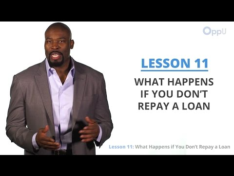 Oppu Lesson What Happens If You Dont Repay Loan
