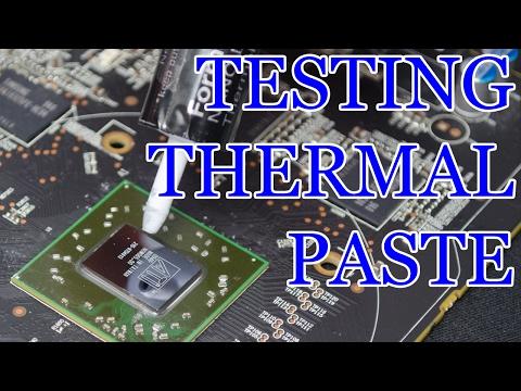 GPU Thermal Paste Test
