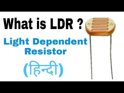 What is LDR in Hindi. Working Principle of LDR. - YouTube